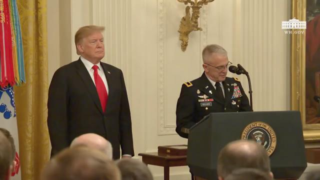 President Trump Presents the Medal of Honor