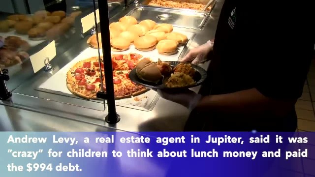 Man pays off the entire lunch debt of every child in his town's public schools