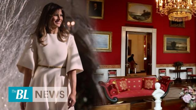 First Lady Melania Trump spruces up White House