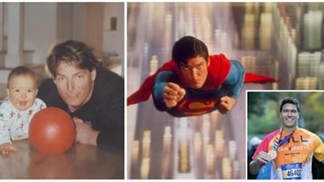 Christopher reeve's son is all grown up and has his 'Superman' dad's chiseled good looks
