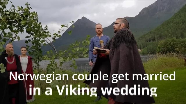Couple Get Married In First Viking Wedding For Almost 1000 Years