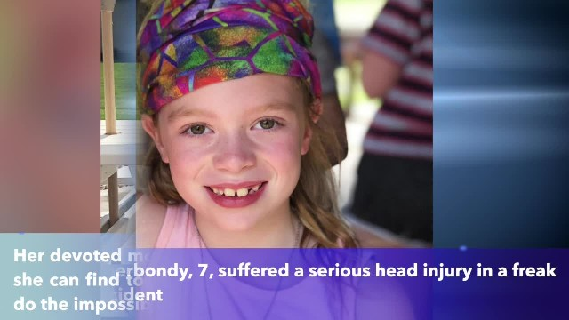 Mother begs for prayers after 'freak accident' has 7-year-old fighting for life