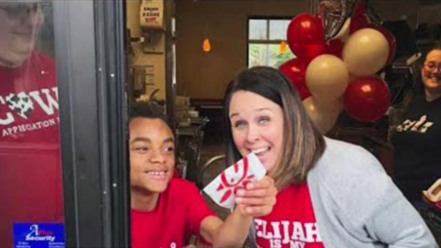 Alabama Chick-fil-A opened on Sunday so a boy with special needs could fulfill his birthday wish