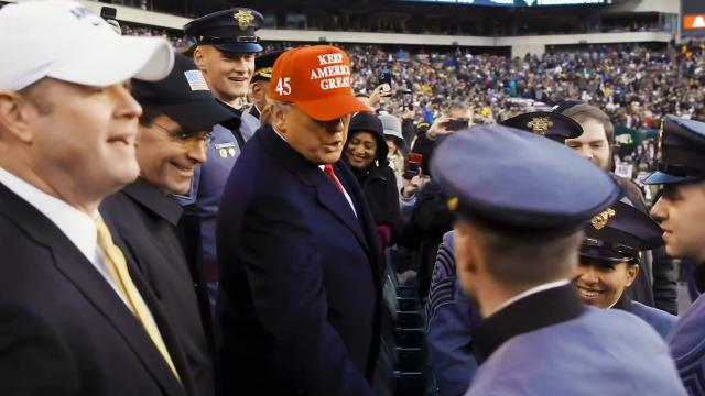 President Trump Attends the 2019 Army-Navy Game