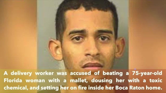 Elderly Florida woman dies after delivery man beats her with mallet, sets her on fire in Boca Raton