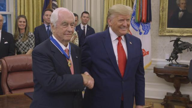 President Trump Presents the Medal of Freedom to Roger Penske