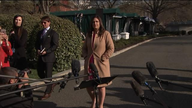 """Sarah Sanders: """" Democrats and liberal media should be absolutely embarrassed by their behavior."""""""