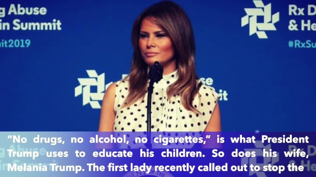 First Lady Melania Trump tweets concerns over teen vaping epidemic as severed lung illness cases gro