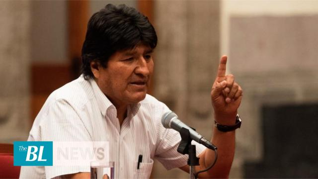 Evo Morales says he may still be president