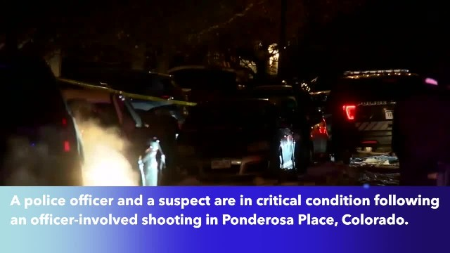 Officer in critical condition after shooting in Colorado
