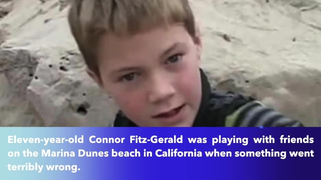 11-year-old California boy uncovers a little girl buried alive in sand dunes, immediately jumps to a