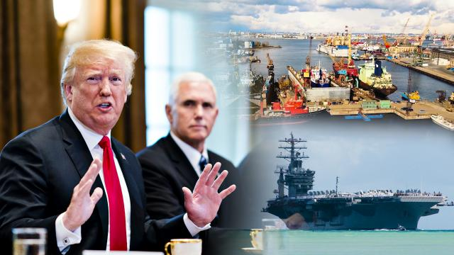 We were defending many countries that treat us very badly on trade and very unfairly.