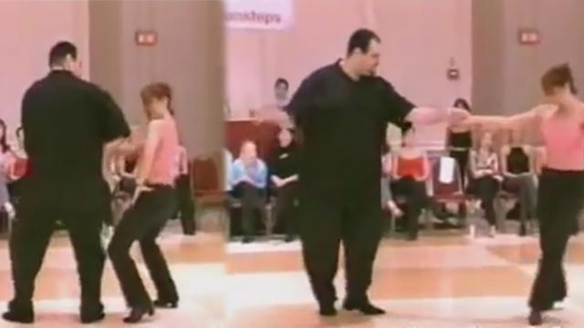 Swing Dancer Looks Overweight Only Doesn't Stop Showstopping Routine From Winning The Internet