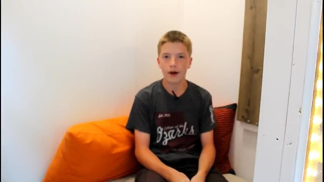 13-Year-Old Builds His Own House For $1,500: Once The Door Opens He Reveals 89 sq ft Masterpiece