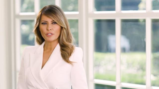 First Lady Melania Trump's message for national preparedness month