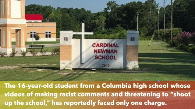 Columbia high school, accused of making racist remarks and threaten to 'shoot up' school, will face
