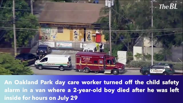 Florida day care worker shut off child safety alarm before boy, 2, died in hot van- Report
