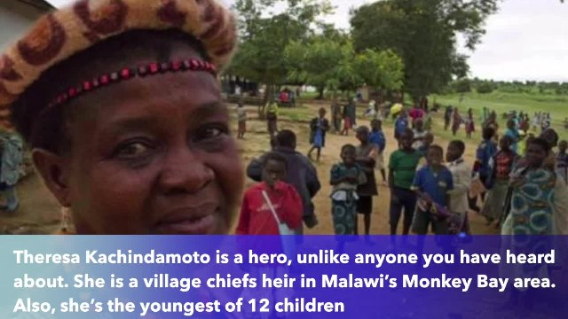 New female village chief annuls 850 child marriages and puts girls back in school!