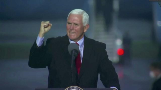 Pence hits campaign trail amid WH virus outbreak