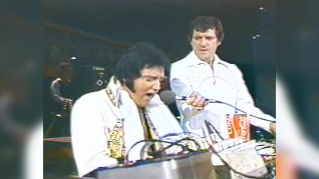 Elvis' last ever recording has remained quiet until now. When I heard the song, it gave me chills