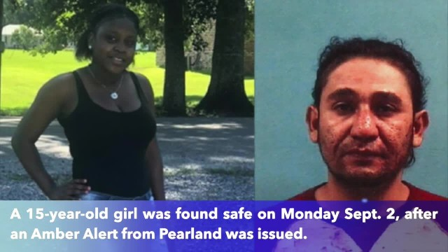 Pearland 15-year-old girl found safe after Amber Alert issued, suspect in custody