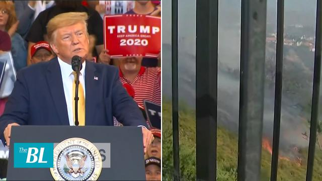 BL News in 3 - Trump fires up the crowd at a rally in Louisiana - Los Angeles fires grow to more tha