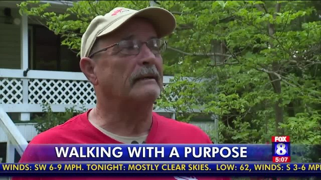 68-year-old marine will walk 300 miles to dc to raise awareness about veteran-related issues