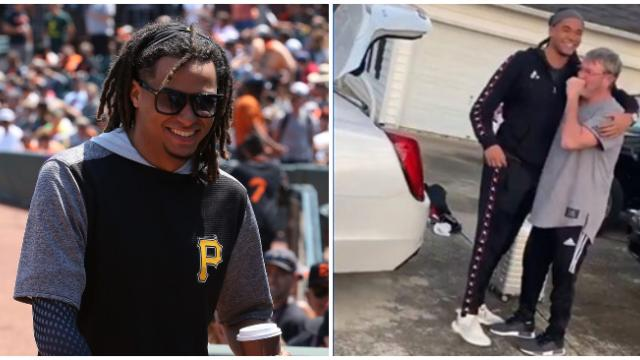 Video- Pirates star Chris Archer surprises his parents with cars for Christmas