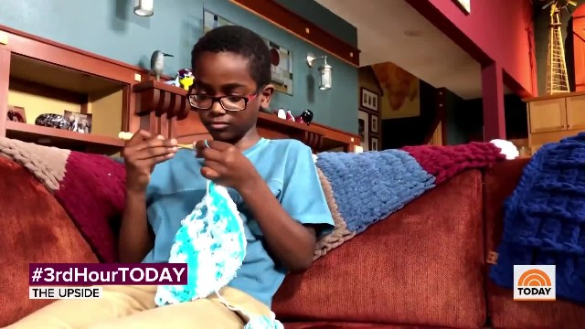 Adopted 11-year-old crochet prodigy donates to an orphanage in Ethiopia