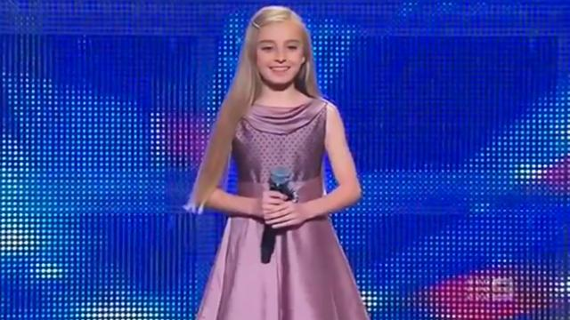 Paris Morgan moved to tears after audition on 'Australia's Got Talent'