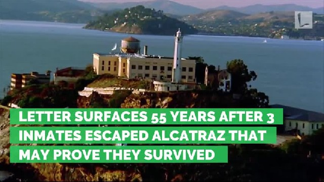 The FBI has been looking for him since he escaped Alcatraz 50 years ago. He just sent them a letter