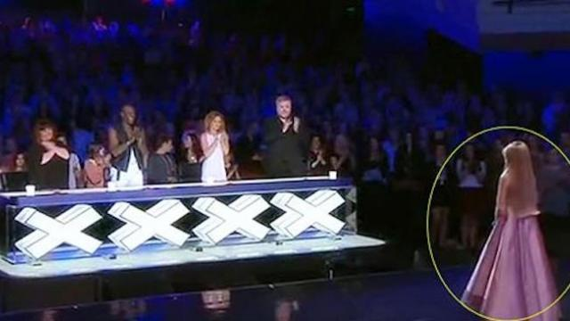Paris Morgan moved to tears after audition on Australia's got talent