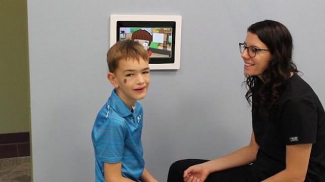 A five-year-old boy had never spoken. The dentist made 1 move, and he was talking in full sentences