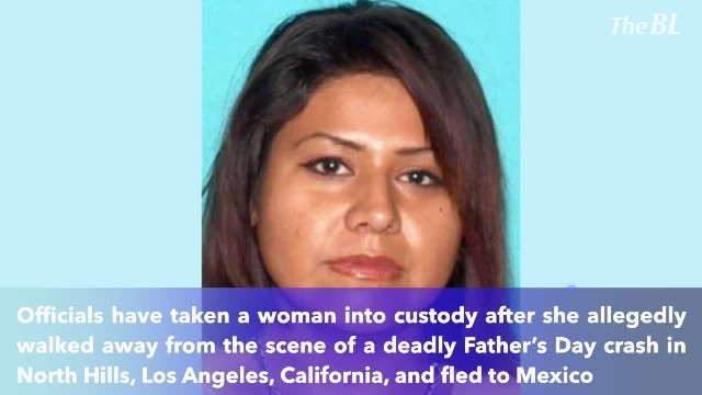 Woman arrested in Mexico 2 months after hit-and-run crash that killed a California father