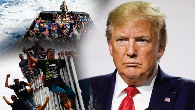 I believe we have to have legal immigration, not illegal immigration