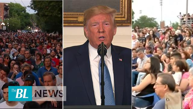 Vigils held in El Paso and Dayton-President Trump denounces Hate and White Supremacy