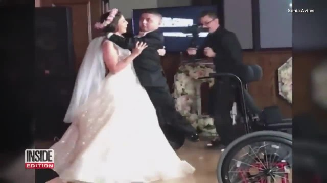 Texas Bride Dances With Her Terminally Ill Brother at Her WeddiBride Dances with Terminally Ill Brot