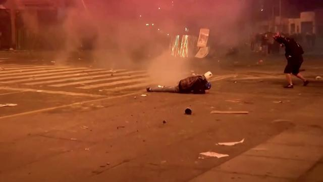 Deadly protest after Peru's president impeached