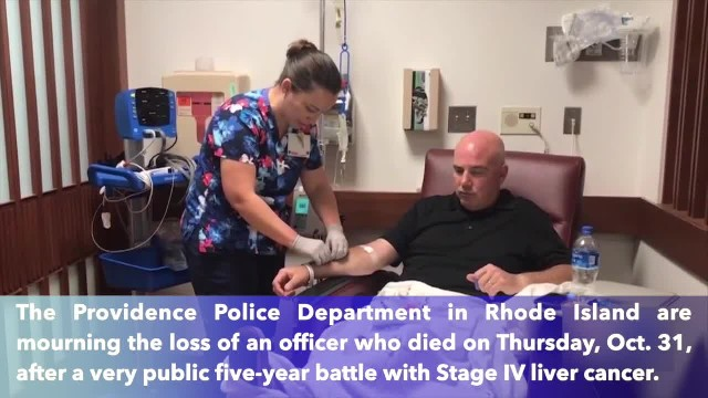 Rhode Island police officer dies after a brave five-year battle with stage IV cancer