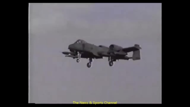 A-10 with 378 bullet holes, no flaps and no speed brakes still makes it home after a fight