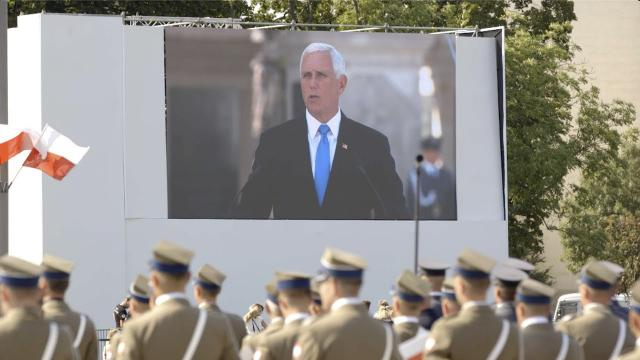 Vice President Mike Pence Marks the 80th Anniversary of the Start of WWII in Poland