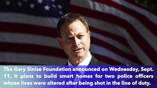Gary Sinise Foundation to build homes for police officers shot in the line of duty