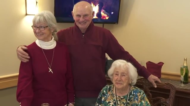 Twins Celebrate Their 80th Birthday, And Their 103-Year-Old Mother Is One Of The Guests