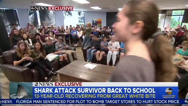13-Year-Old Shark Attack Survivor Gets 1,000 Stitches and Hopes to Swim Again: I Wanna Get Back Out