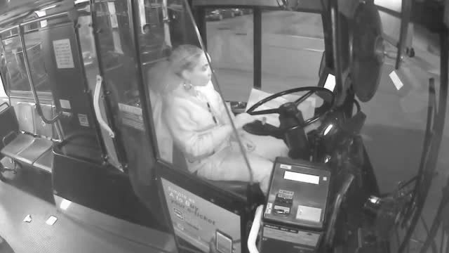 Bus Driver Lets Homeless Man Ride Bus All Night To Stay Out of Cold & Buys Him Dinner
