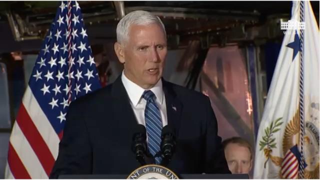 Vice President Pence Delivers Remarks at the 6th Meeting of the National Space Council