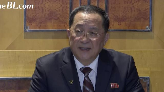 The BL—North Korea's foreign minister has disputed U.S. President Donald Trump's account of Summit