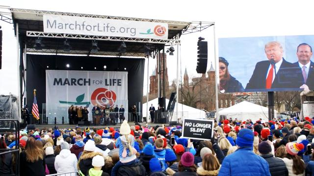 President Trump delivers remarks at the 2020 March for Life