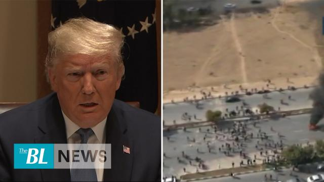 Protesters slaughtered by Iranian government - Trumps says situation in Iran could be fixed quickly