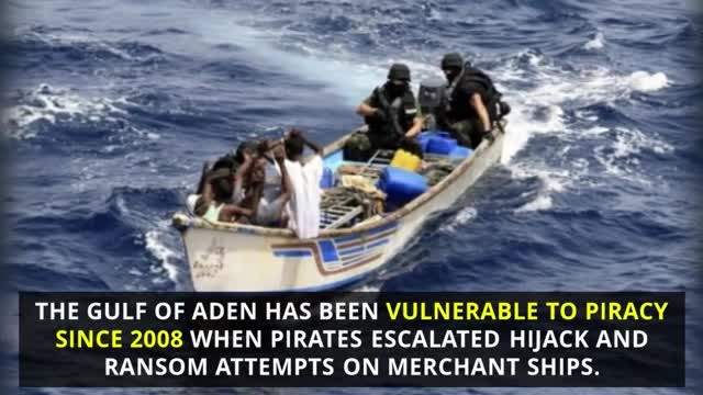 Somali Pirates Decide To Attack American Freight-liner, Have No Idea They Have Trained Snipers Waiti